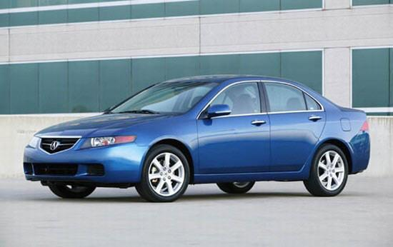 2005 Acura CSX Automatic (CA) related infomation ...