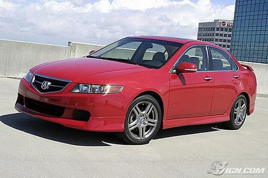 Front left 2005 Acura TSX Special Car Picture
