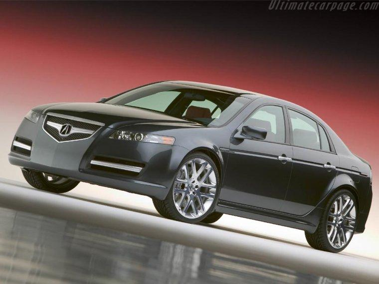 Acura TL A-Spec Concept Car Picture
