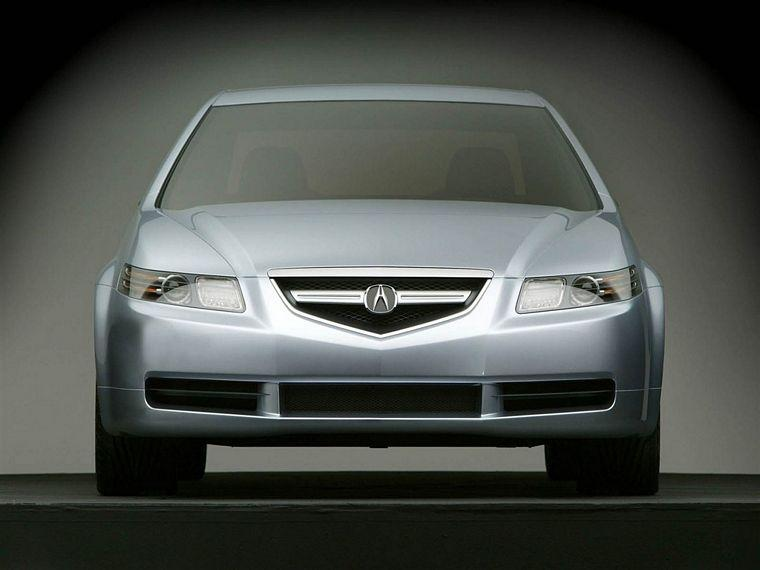 Front View 2004 Acura TL Concept Car Picture