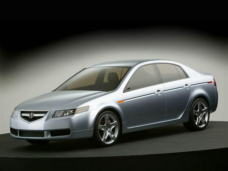 Front left 2004 Acura TL Concept Car Picture