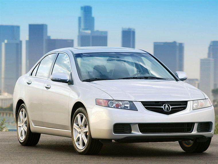 Front Right 2004 Acura TSX Car Picture