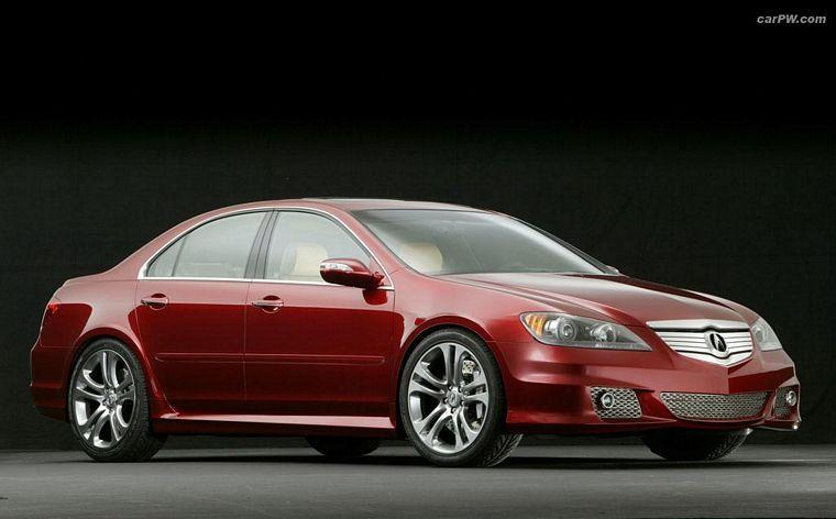 Front Right 2005 Acura RL Concept Car Picture