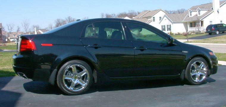 Right Side 2005 Acura TL Car Picture