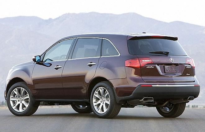 Rear Left 2010 Acura MDX Elite Car Picture