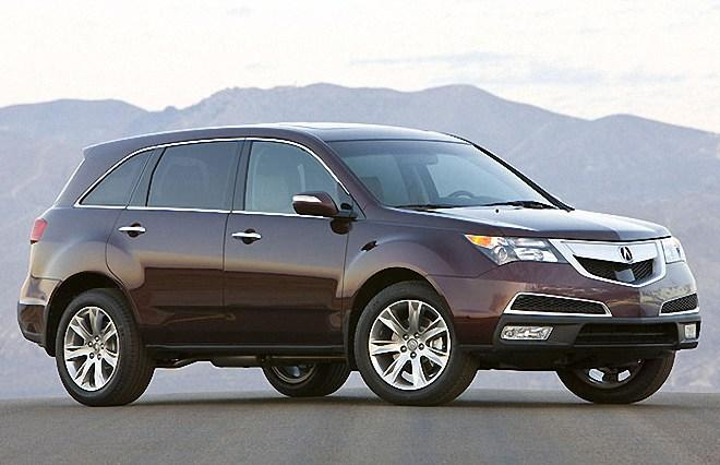 Front Right 2010 Acura MDX Elite Car Picture