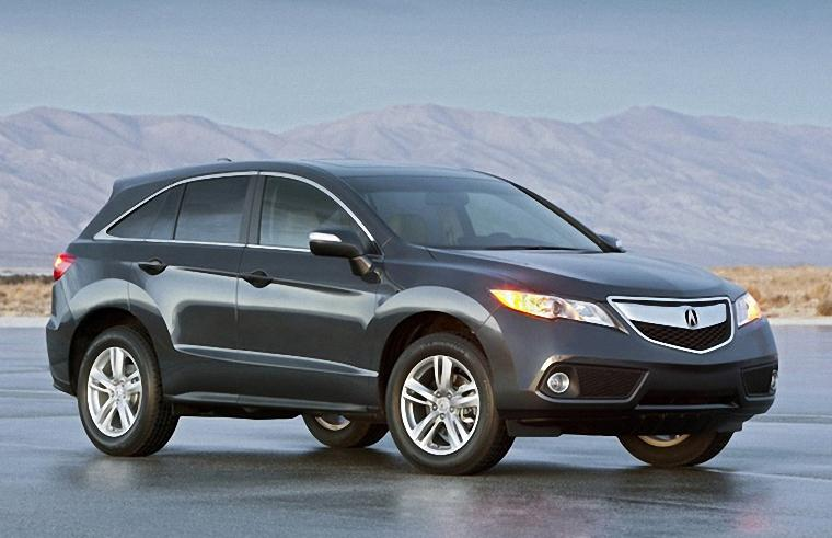 Front Right Gray 2013 Acura RDX SUV Photo