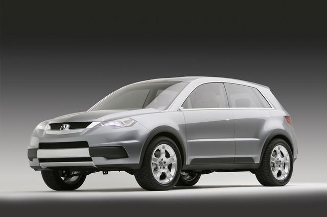 Front left 2005 Acura RDX Concept Car Picture