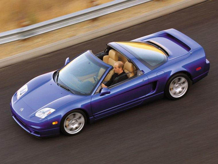 Top View 2005 Acura NSX Car Picture