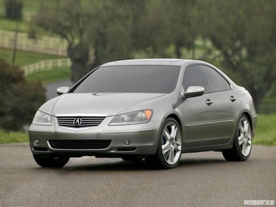 2004 Acura RL Prototype Car Picture