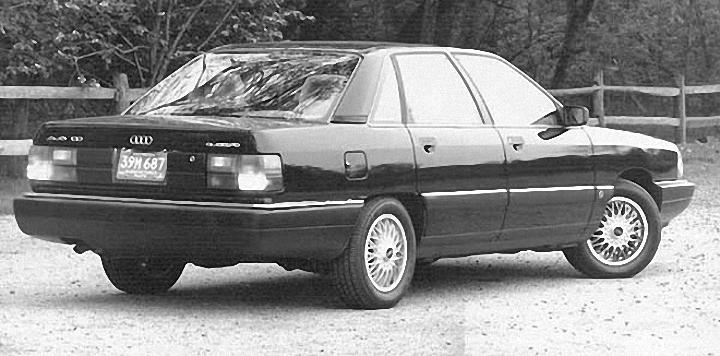 Rear Right 1989 Audi 100 Car Picture