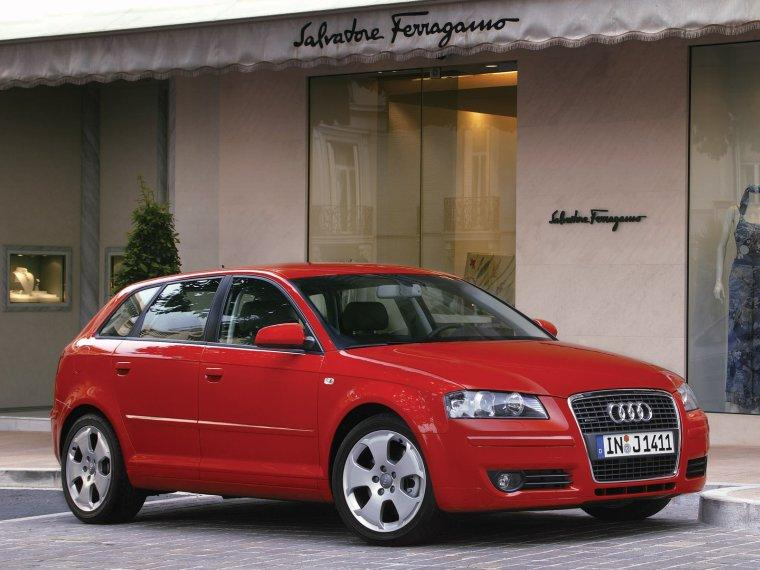 right front red 2005 audi a3 sportback pic classy car pics. Black Bedroom Furniture Sets. Home Design Ideas