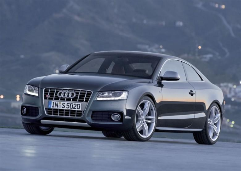 Front Left Black 2008 Audi S5 Car Picture