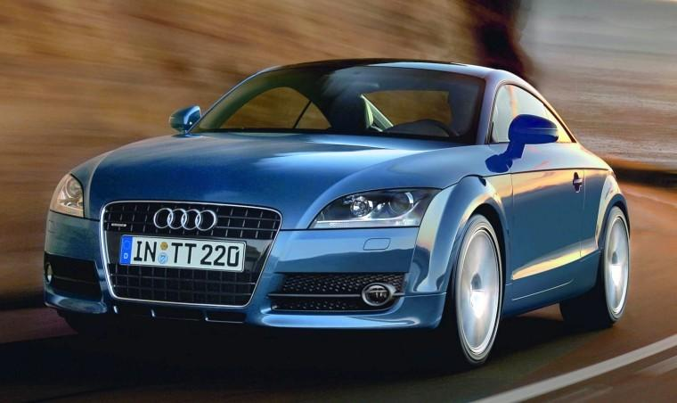 Front left 2009 Audi TT Car Picture