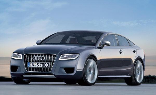 Front Left 2010 Audi A7 Car Picture
