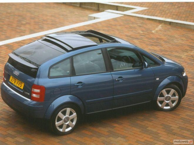 Top View 2001 Audi A2 Car Picture