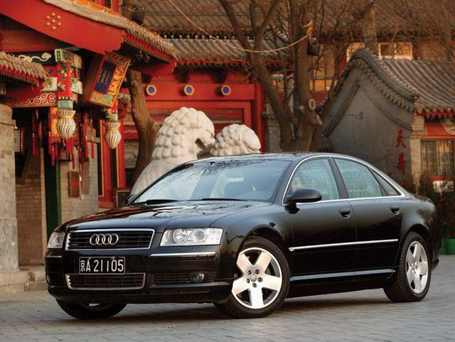 Front left 2003 Audi A8 Car Picture