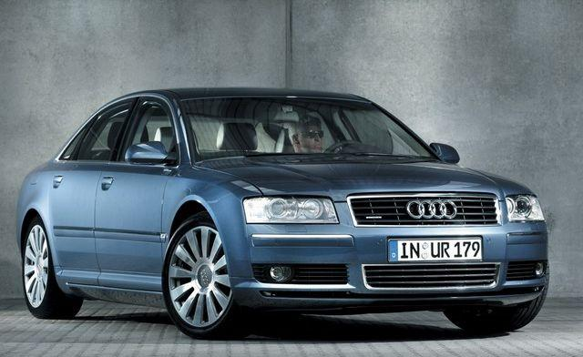 Front right 2003 Audi A8 Car Picture