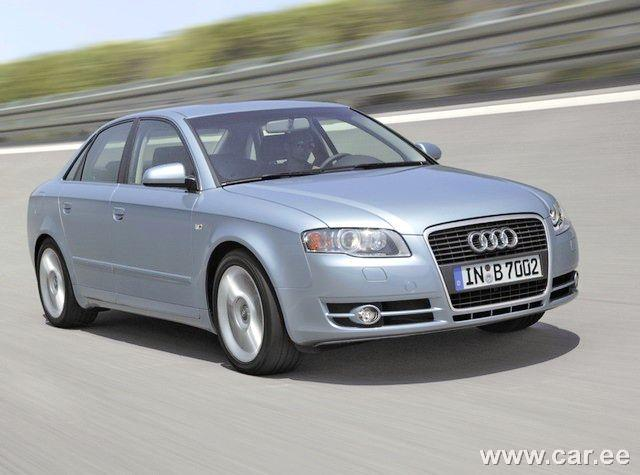 Front Right 2005 Audi A4 Car Picture