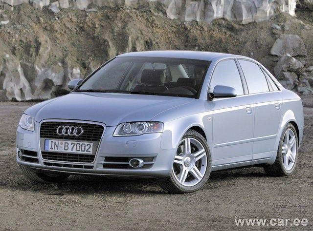 Front left 2005 Audi A4 Car Picture