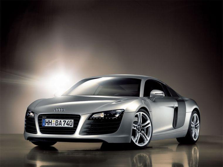 Front left 2007 Audi R8 Car Picture
