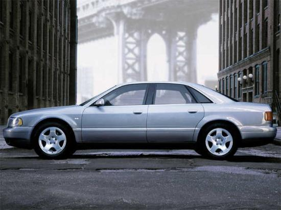 Left Side 2002 Audi A8 Car Picture