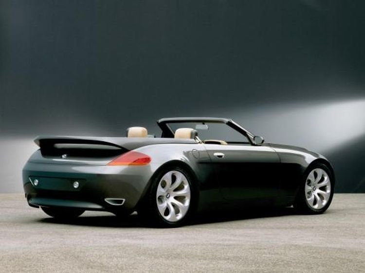 Rear Left 1999 Bmw Z9 Cabriolet Convertible Car Photo