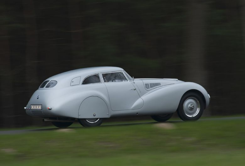 Side View 1940 BMW 328 Miglia Kamm Car Picture
