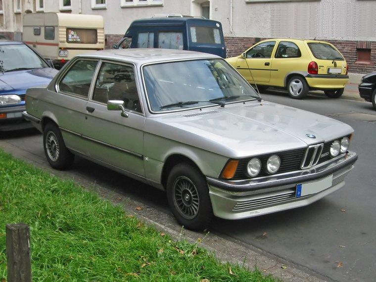 Front Right 1978 Bmw E21 Car Picture