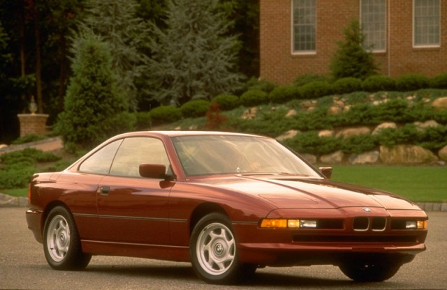 Front Right 1991 BMW 850i Car Picture