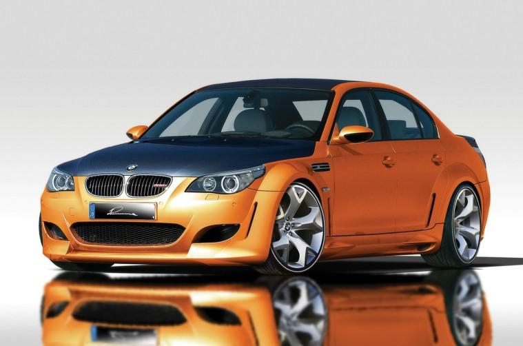 Front left 2007 BMW Lumma M5 Car Picture