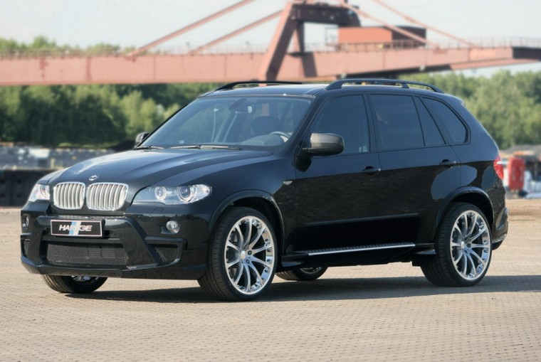 Front Left Black 2009 Hartge BMW X5 CUV Picture