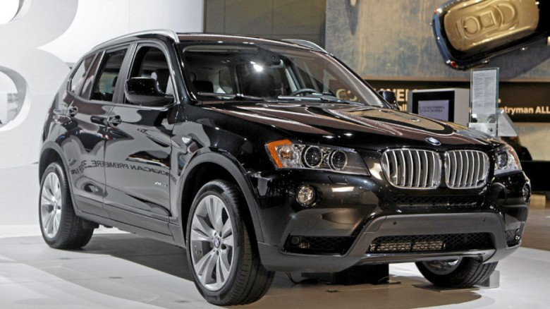 2011 BMW X3 SUV Picture