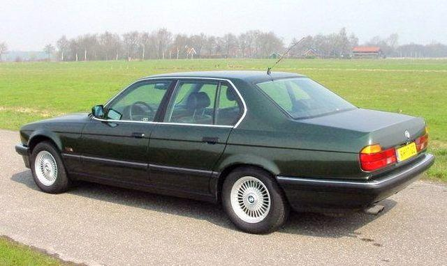 BMW 735i Sedan Car Picture