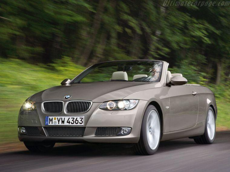 BMW E92 Cabriolet Car Picture
