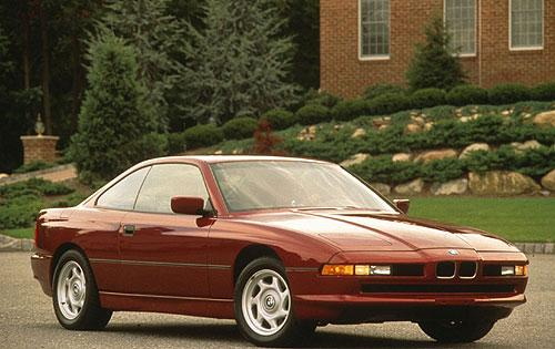Front Right 1978 BMW 840 Car Picture