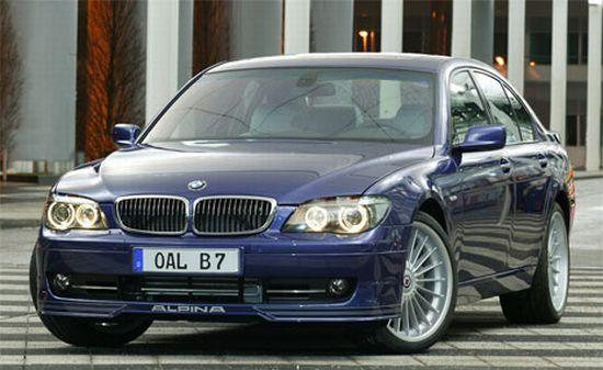 Front left blue 2005 BMW Alpina B7 Car Picture