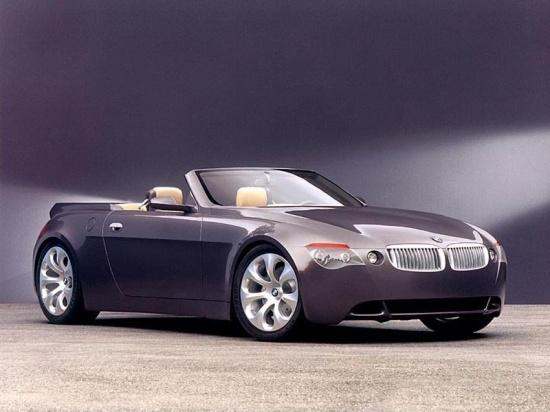 Front Right BMW Z9 Concept Car Picture