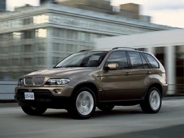 Front left 2007 BMW X5 SUV Picture