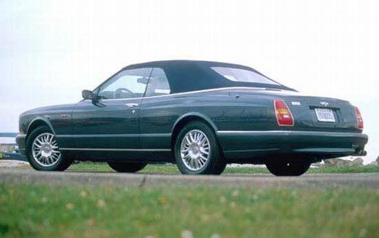 2002 Bentley Azure Convertible Car Picture