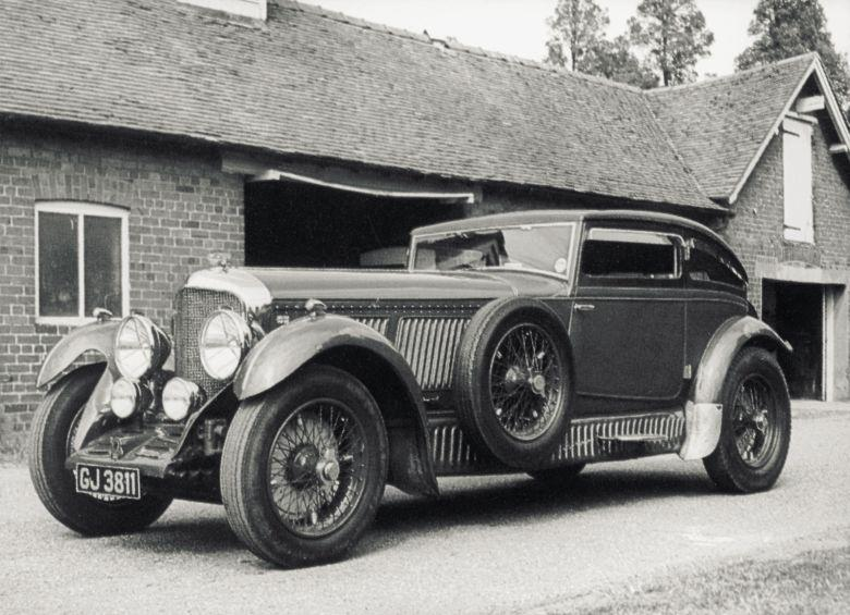 1929 Bentley Blue Train Car Picture