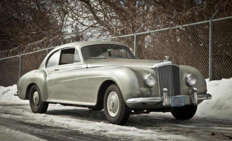 Fromt Right Side 1955 Bentley Inskip R Type Continental Car Picture
