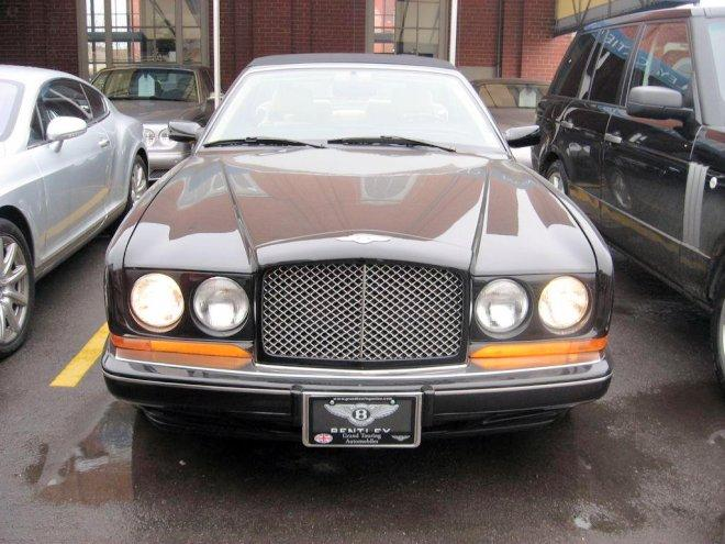 Front view 1996 Bentley Azure Car Picture