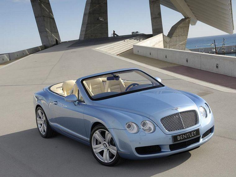 Front Right 2006 Bentley Continental GTC Car Picture