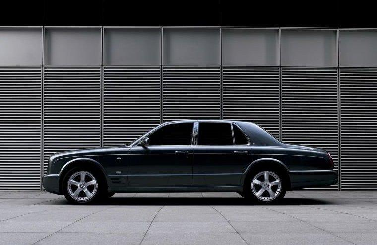 Left Side 2007 Bentley Arnage Car Picture