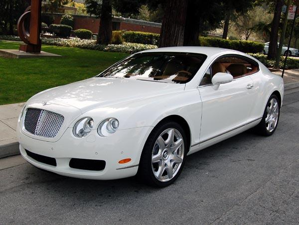 white 2007 bentley continental gt car photo pictures of bentleys. Cars Review. Best American Auto & Cars Review