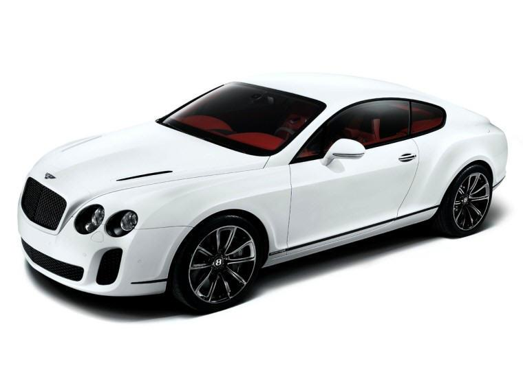 Front Left 2010 Bentley Continental Super Sports Car Picture