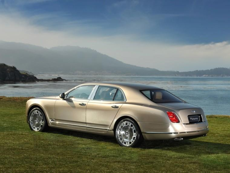 Rear Left 2010 Bentley Mulsanne Pebble Beach Car Pictur