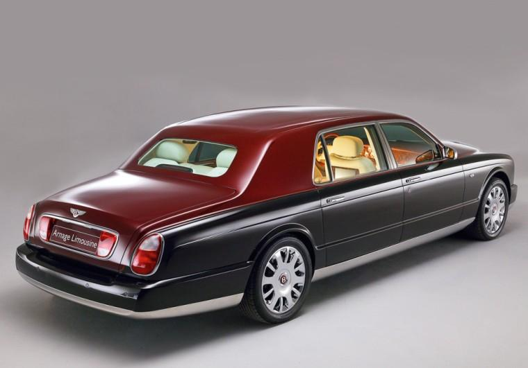 Rear Right Bentley Arnage Car Picture