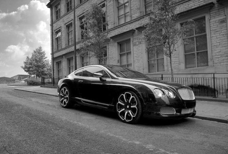 Front Right 2008 Kahn-Bentley Continental Car Picture